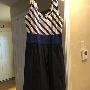 Express Tank Dress - Nautical